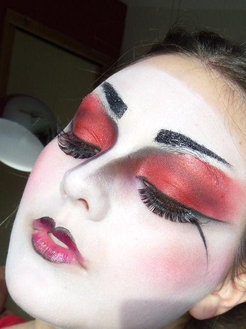 28 best Geisha Makeup images on Pinterest | Geishas, Geisha makeup ...