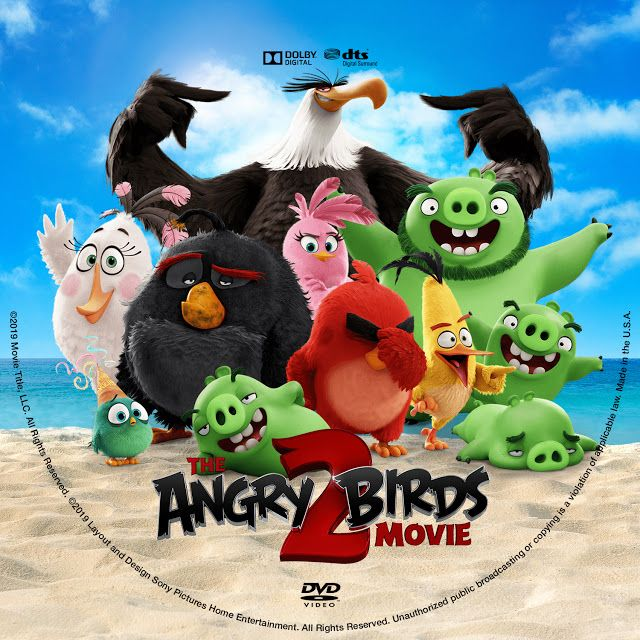 The Angry Birds Movie 2 Dvd Label Angry Birds Angry Birds Movie Dvd Label