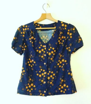 Terra's Mimi blouse - sewing pattern in Love at First Stitch