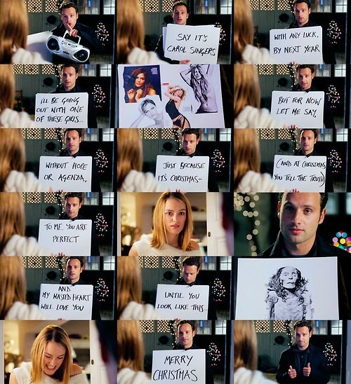 Andrew Lincoln And Keira Knightley In Love Actually One Of The Sweetest Scenes Ever