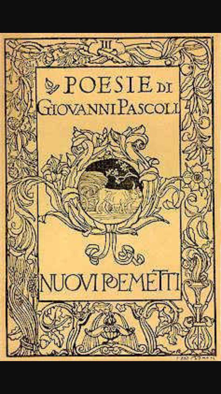 Poemetti, una raccolta di poesie scritta nel 1897.