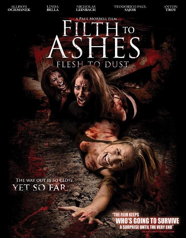 Filth To Ashes Flesh To Dust New Serial Killer DVD for sale by the Horror Movie Outlet at MoreThanHorror.com
