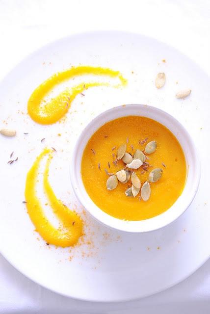 Zuppa di zucca e patate