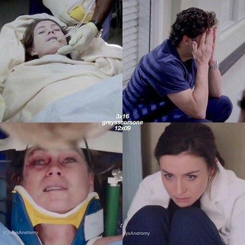The parallels... #greysanatomy