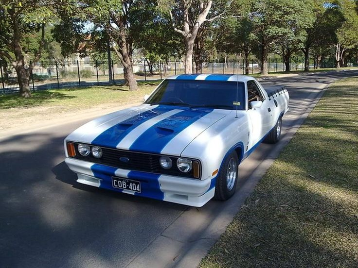 XC Ford Falcon ute Cobra styling