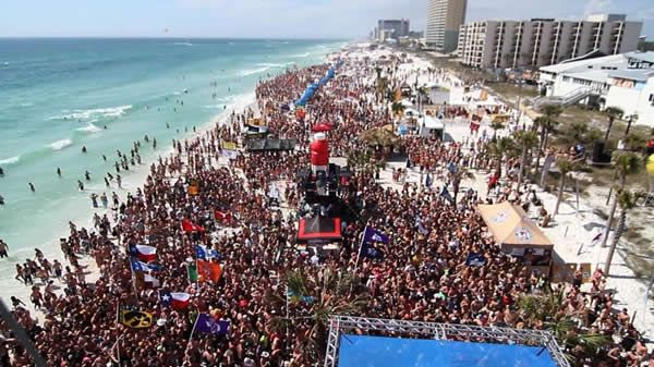 Cancun, the number one Spring Break Party Destination and the best value too. Check it out at www.travelintoucan.com