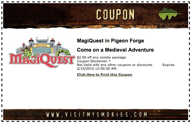 Monster coupons pigeon forge