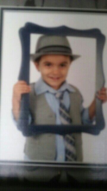 Portrait of my nephew