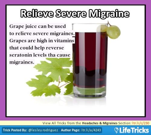 Headaches & Migraines - Relieve Severe Migraine