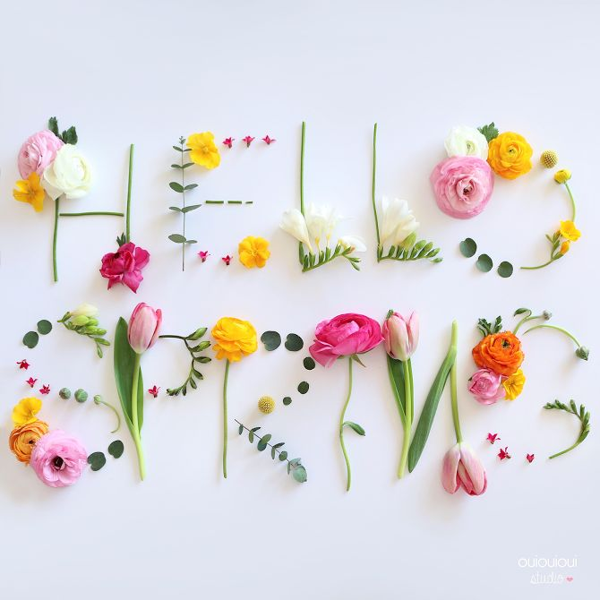 25+ best ideas about Hello spring on Pinterest  Happy spring, Spring flowers...