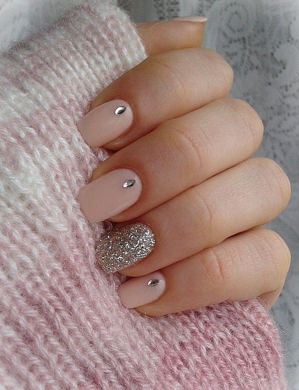 Uñas acrilicas rosa - Pink Acrylic Nails