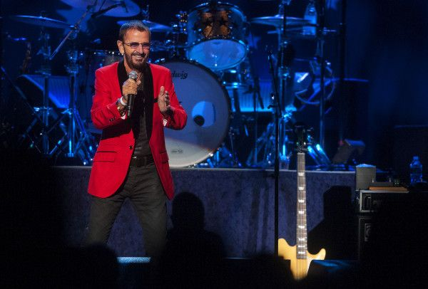 Ringo Starr and his All-Starr Band perform on Wednesday at the Cross Insurance Center in Bangor.