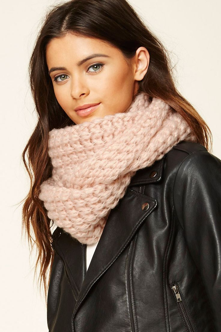 Open-Knit Infinity Scarf - Accessories - Scarves + Gloves - 1000210145 - Forever 21 EU English