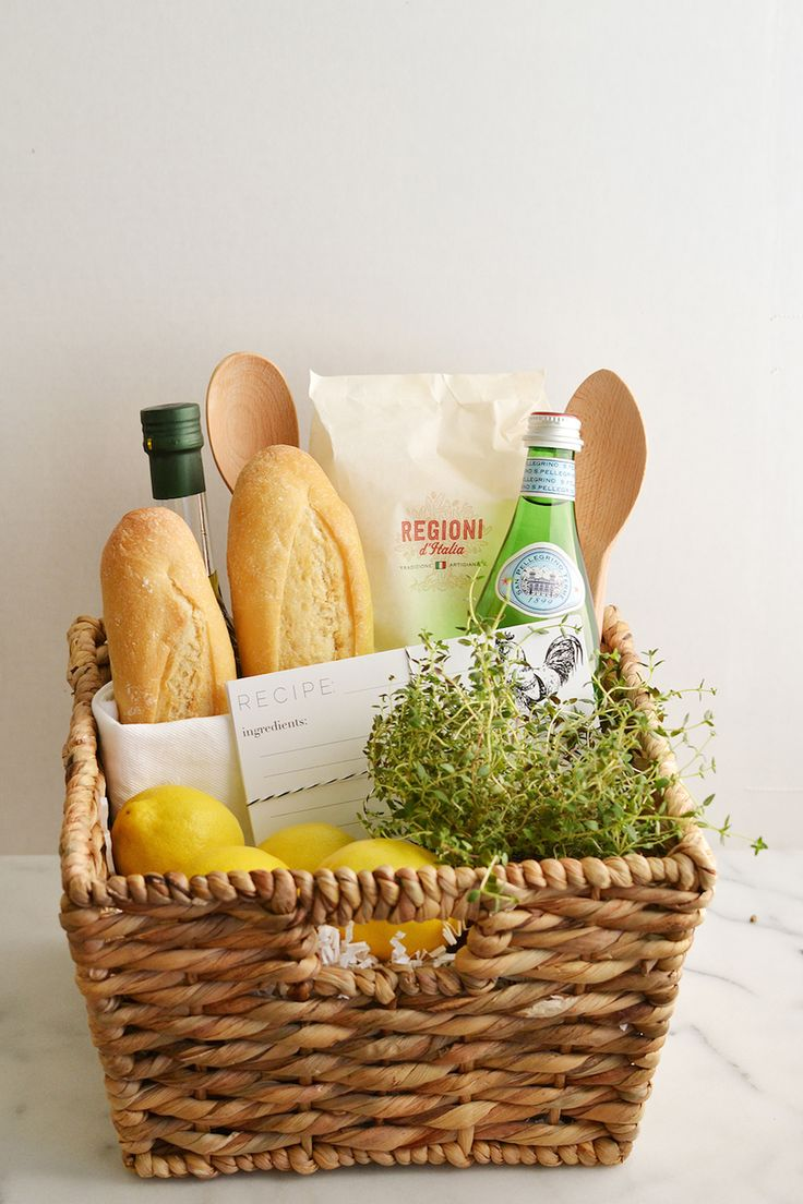 8 dinner gift basket