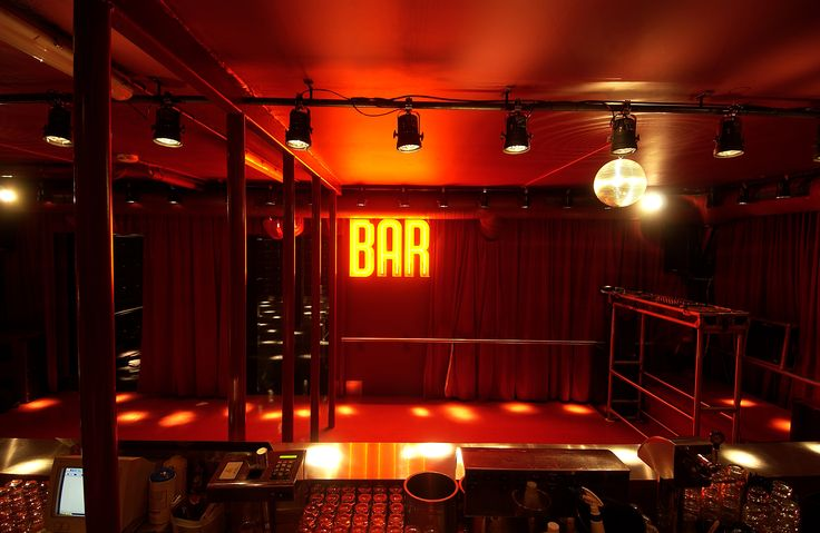 Le Bar Rouge at Supperclub Amsterdam