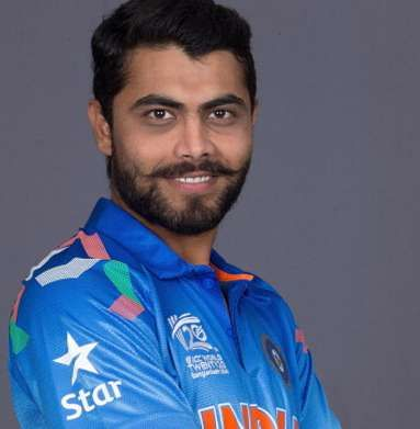 Ravindra Jadeja Height, Weight, Age, Biography, Wiki, Wife, Family Photos. Ravindra Jadeja Date of Birth, Net worth, Salary in IPL, Test, ODI, T20, Images