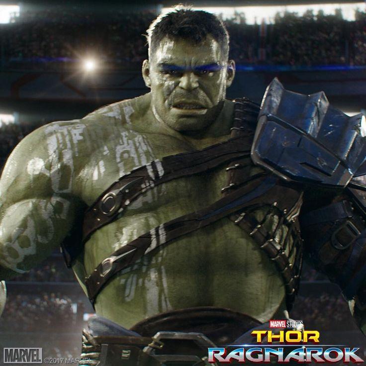 Thor Ragnarok Movie Scene with Gladiator Hulk - DigitalEntertainmentReview.com