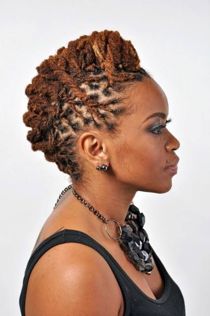 Great locs styles!