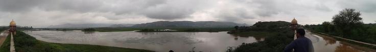 Jai samand lake near alwar, RAJASTHAN,INDIA