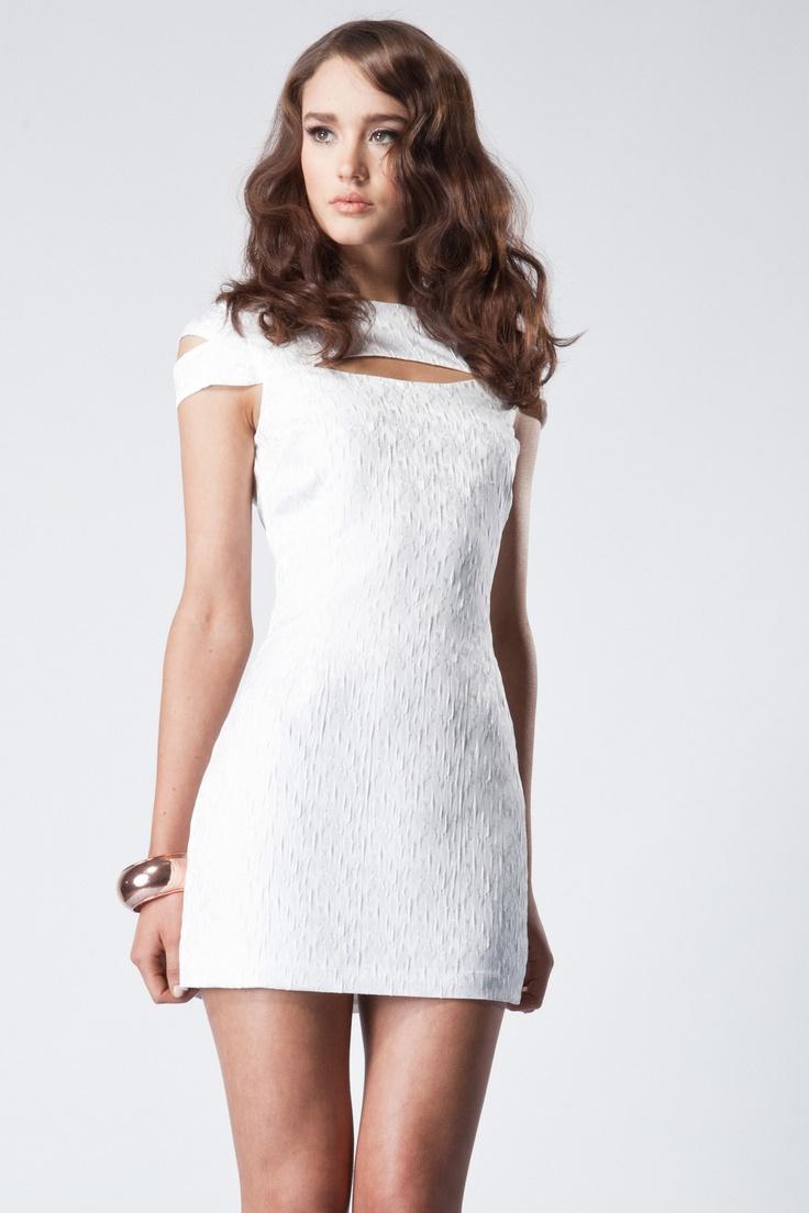 Keepsake - Wild Hearts Dress in White Animal Print Price  AUD $149.95