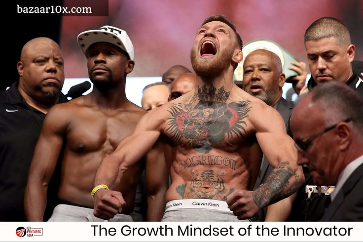 The Growth Mindset of the Innovator. Conor McGregor already won from many different angles.  This is more than money & landing punches.  Vision, self-improvement, work ethics, discipline, commitment, sacrifice, focus, creativity, strength, ambition, drive & supreme confidence are values that transform talent into the elite 👊👊👊   #startups #startup #conormcgregor #conor #mcgregor #innovation #business #tech #technology #lawofattraction #UFC #Boxing