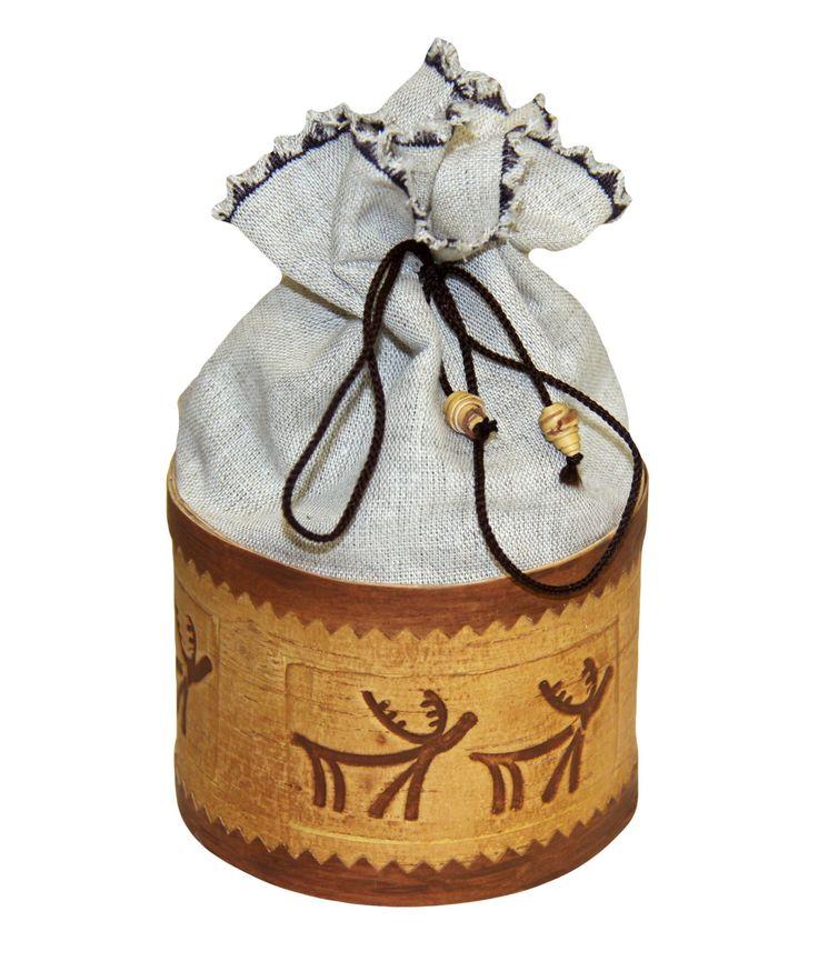 Упаковка берестяная «Мешочек счастья»