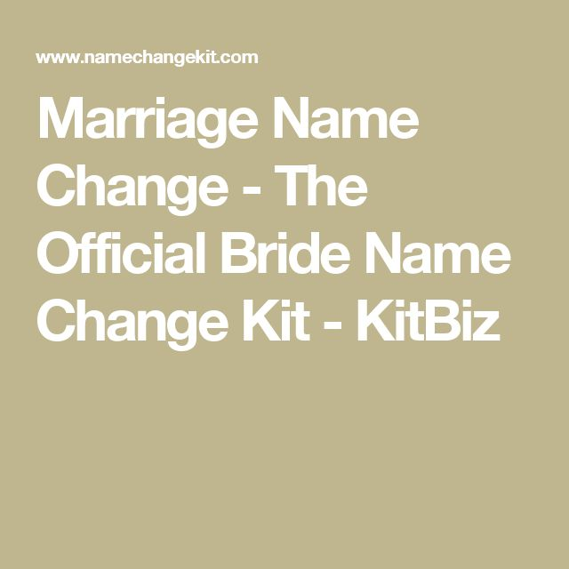 Best  Marriage Name Change Ideas On   Name Change
