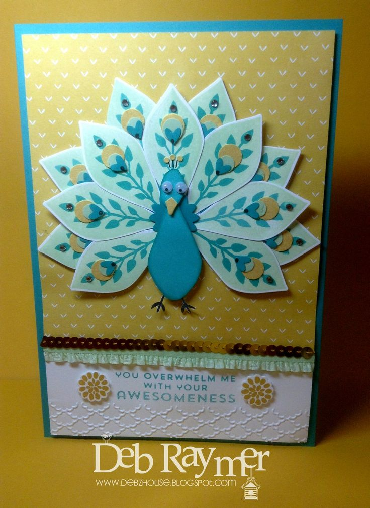 Card Making Ideas Using Punches Part - 16: Love This Using The Flower Patch Bundle And Also The Owl Builder Punch  (hearts And Spots).