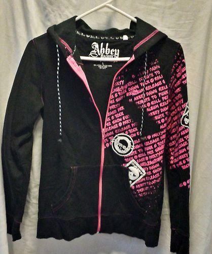 Avril Lavigne Abbey Dawn Jacket with Headphones Zip Hoodie Rock Skateboard | eBay $19.99