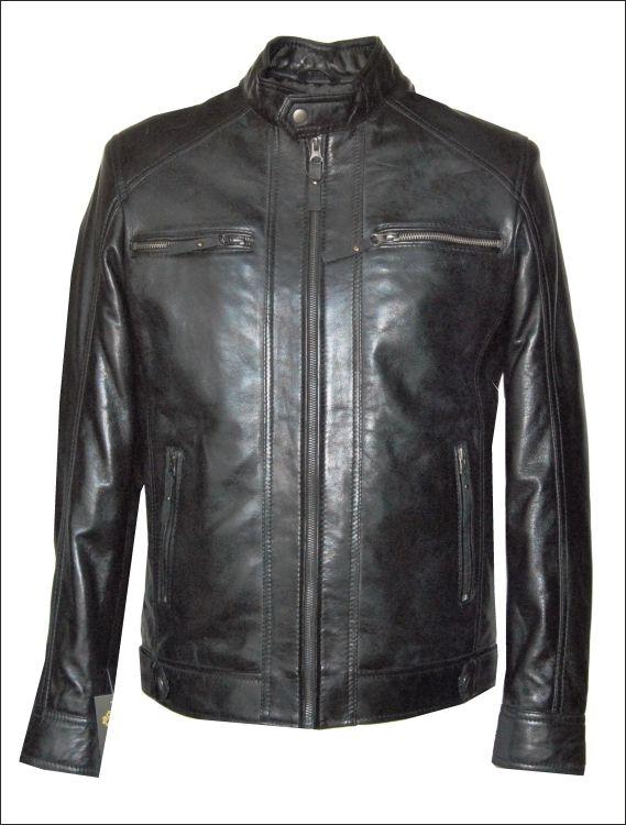 Ανδρικό δερμάτινο μπουφάν  Μοντέλο: MR-22 Δέρμα: slim fit nappa Τιμή: 330€