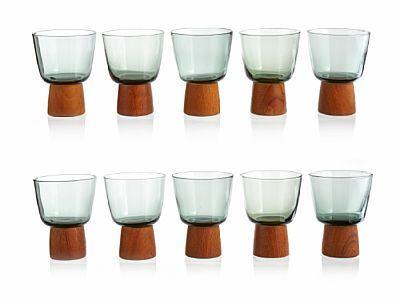 """WILLY JOHANSSON JEVNAKER 1921 - D.SST. 1993  Glass """"Buster"""", Hadeland Glassverk. 1960-tallet."""