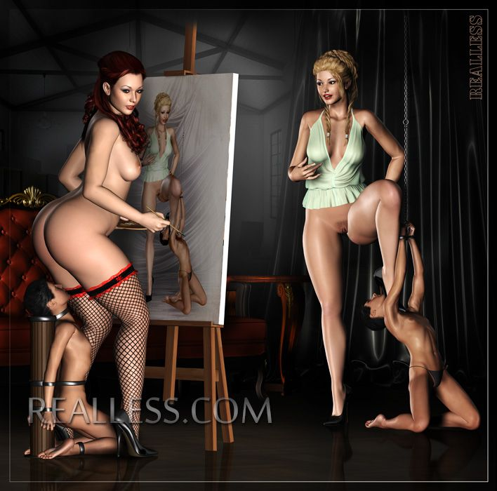 Favourite domination and slave fine lady