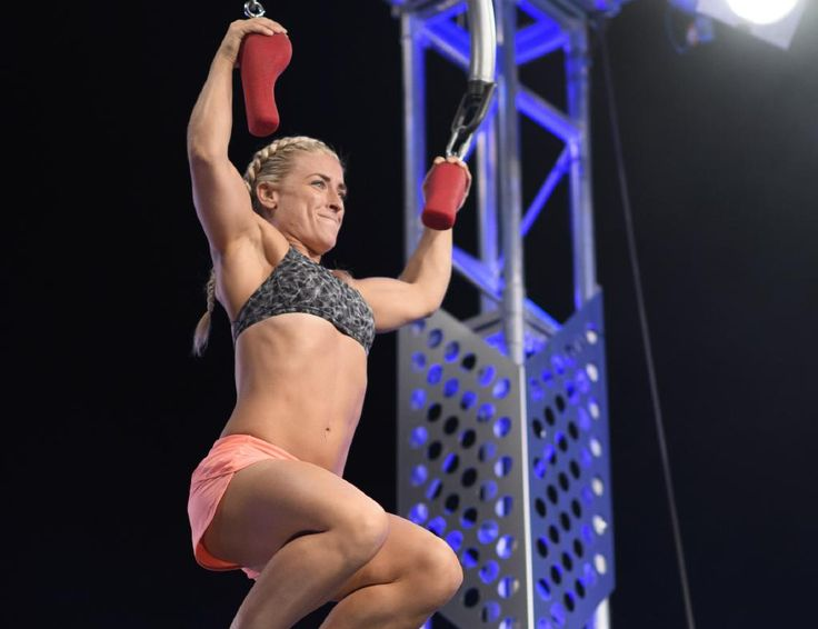 Betsy Burnett is a force to be reckoned with on <i>Australian Ninja Warrior</i>.