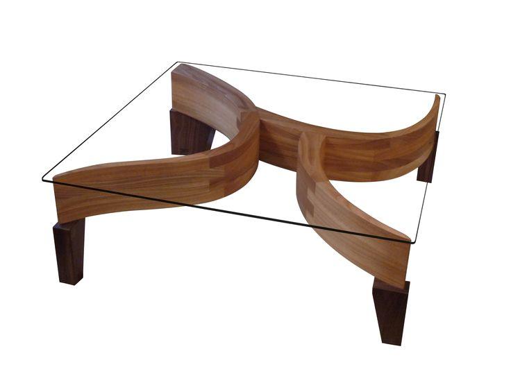 Chaque angle de cette table basse Arboretum offre un design différent