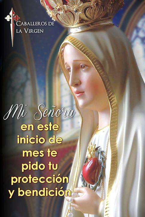 Santa Madre en este mes que comienza; acompáñame bendíceme y protégeme cada uno de los días de febrero