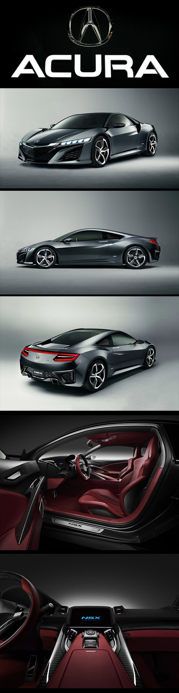 After introduced at the 2012 Detroit Auto Show as a new concept and then Honda announced the 2013 Acura NSX price range, now it's expected to be one of the top class luxury cars. As for the 2013 Acura NSX price range, the car reportedly will go on sale at the price range of $85,000 – $140,500 and expected will be not far from it. The car looks great, and even manages to look a little like the original, so that why the $140,500 is the perfect options for the 2013 Acura NSX price.
