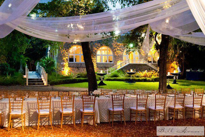 Coconut Grove Women's Club. Miami, South Florida Rustic Wedding Venue.