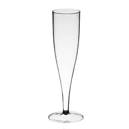 5 oz sovereign plastic champagne flutes 10 for at smart party