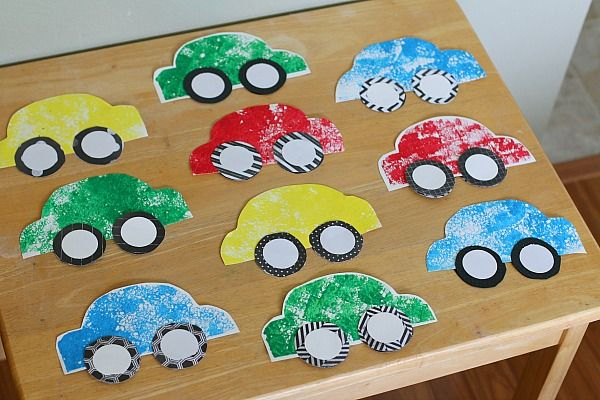 Paper Car Craft for Kids - Buggy and Buddy Can also be used as birthday party invitations