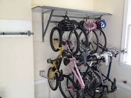 Image result for bicycle rack garage wall