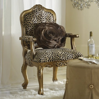 11 best images about Animal print chair on Pinterest Fabric