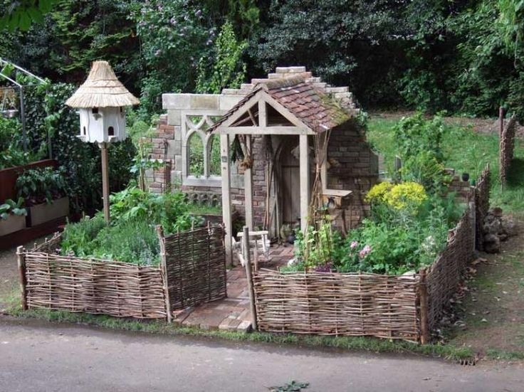 Garden Sheds Jarrow garden sheds jarrow willow hurdles are used for weaving around the