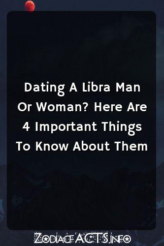 Libra man dating