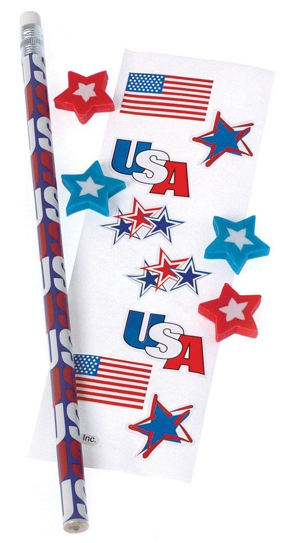 U.S. Toy Fourth of July Patriotic 12 Packs 6pc Favor Bags Red White Blue -- Be sure to check out this awesome product.