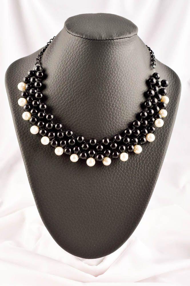 Rocailles Kette handgemacht Designer Schmuck elegant Frauen Accessoire schön • EUR 32,36