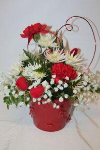 #heart #valentines #flowers Fantasy Flowers Thiensville WI 262-242-37321