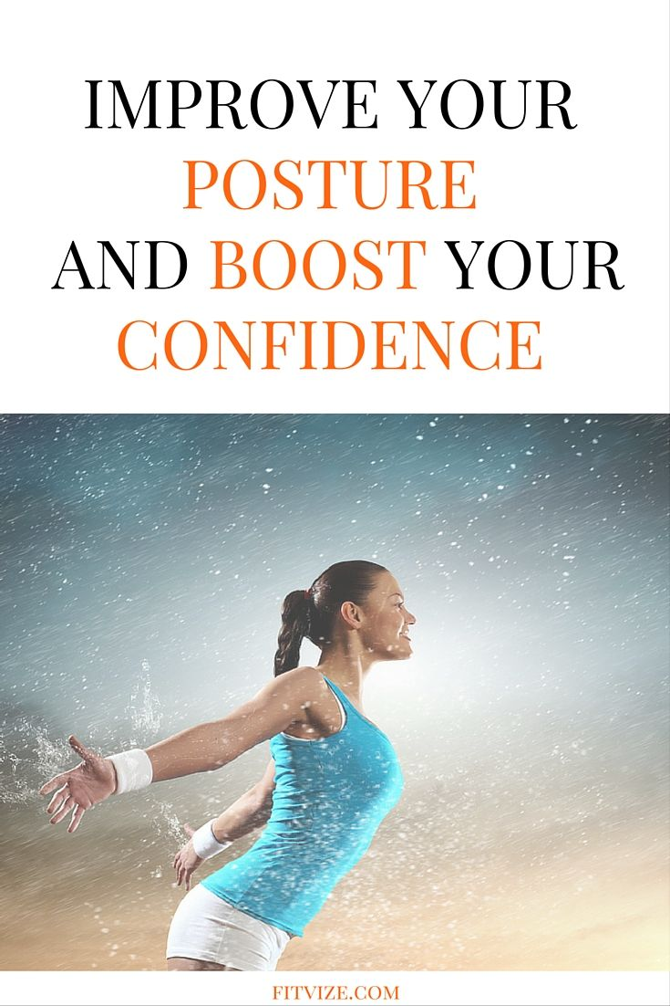 Yes, it is true: good posture can dramatically raise our self-assurance. According to recent medical research, the level of testosterone, a hormone responsible for confidence, rises by 25% in two minutes when you straighten your back. It turns out, our body language not only influences the way others perceive us, it can also change our view on ourselves and nourish self-confidence. Find out more at https://fitvize.com/2016/08/01/five-confidence-boosters-you-need-to-know/