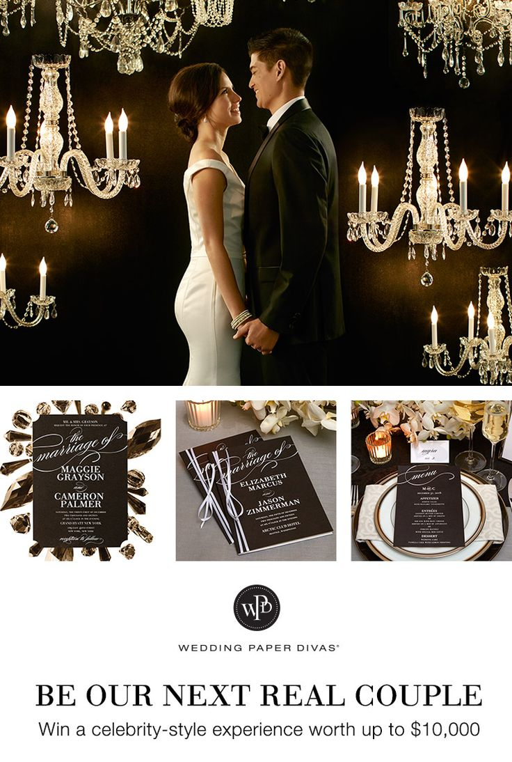 Enter the Wedding Paper Divas sweepstakes for