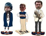 Set of all three CLARKtoys.com Exclusives of Mike Ditka: Coach with Newspaper Base, Sideline and Hall of Fame. Limited Numbered Editions of Only 500 Each.  Exclusive to CLARKtoys.com.