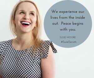 How to Find Stillness in a crazy world - Susie Moore - #SusieSecrets